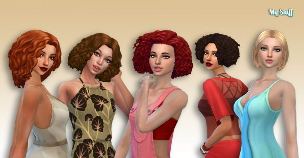 Female Medium Hair Pack 14