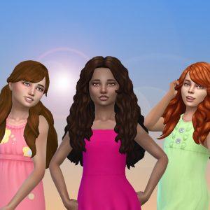 Girls Long Hair Pack 21