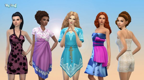 Female Body Clothes Pack 5