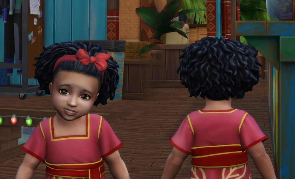 Josephine Curls for Toddlers