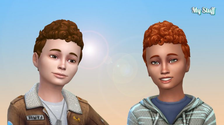 Pixie Curly for Boys 💕