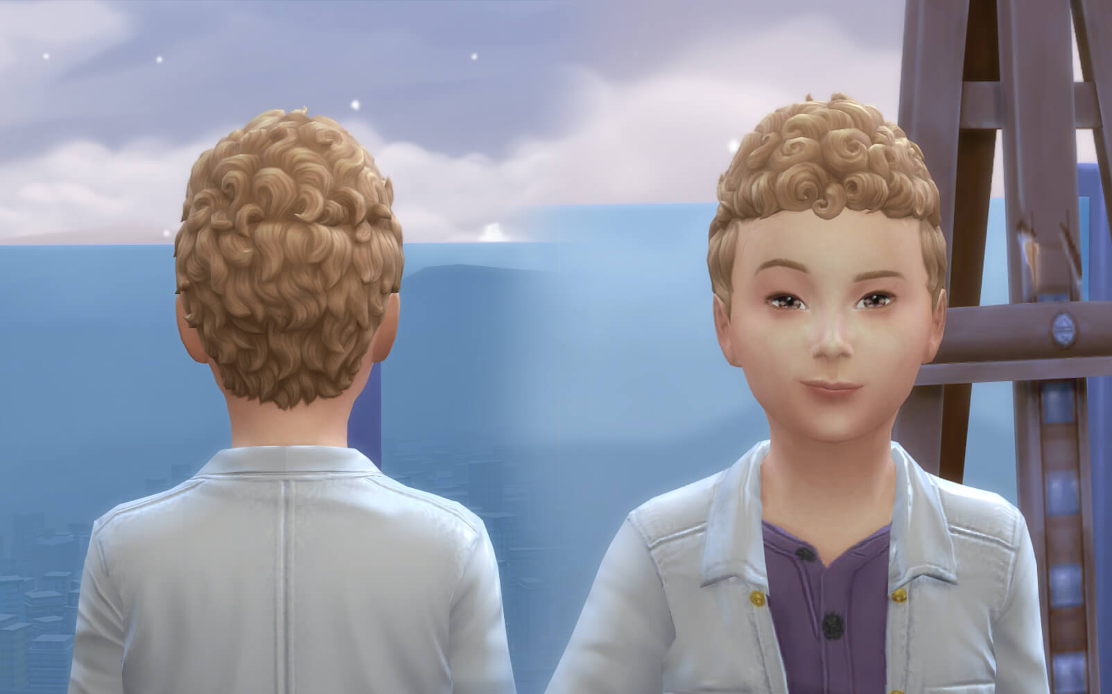 Pixie Curly for Boys
