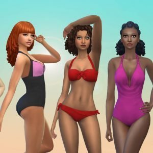 Female Swimwear Pack 2