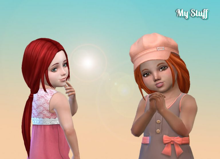Telma Hairstyle for Toddlers 💕