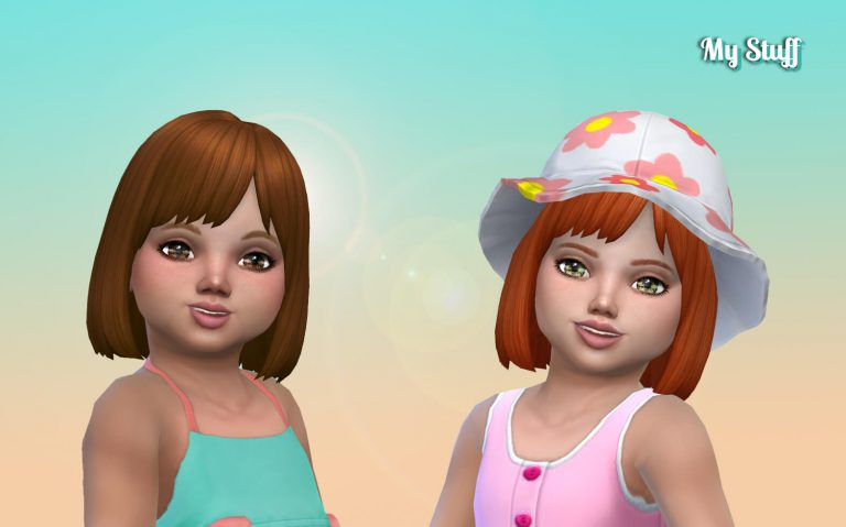 Bob Straight Bangs for Toddlers 💕
