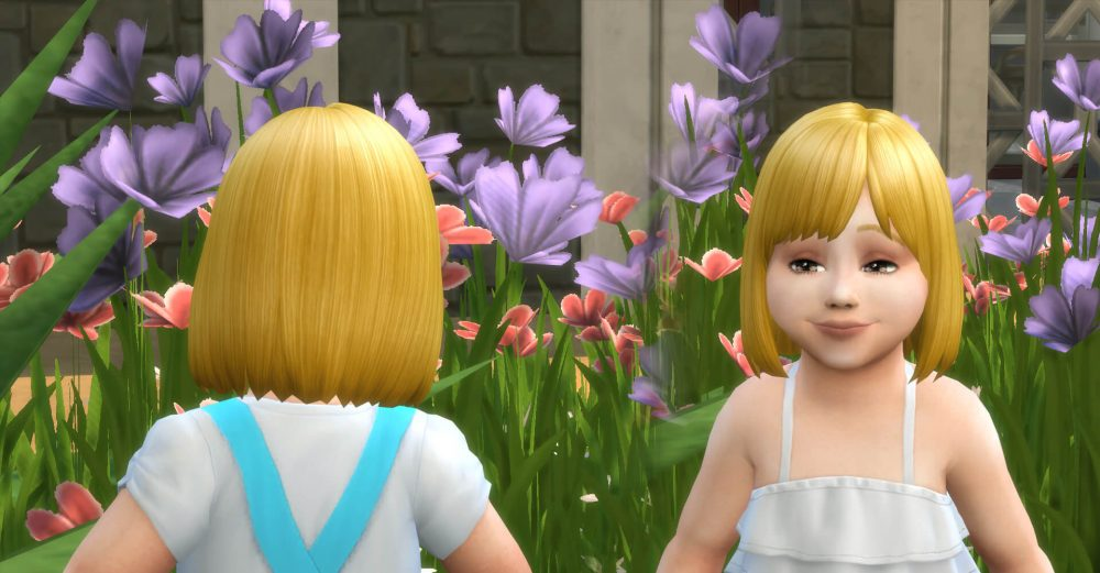 Bob Straight Bangs for Toddlers