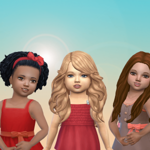 Toddlers Hair Pack 32