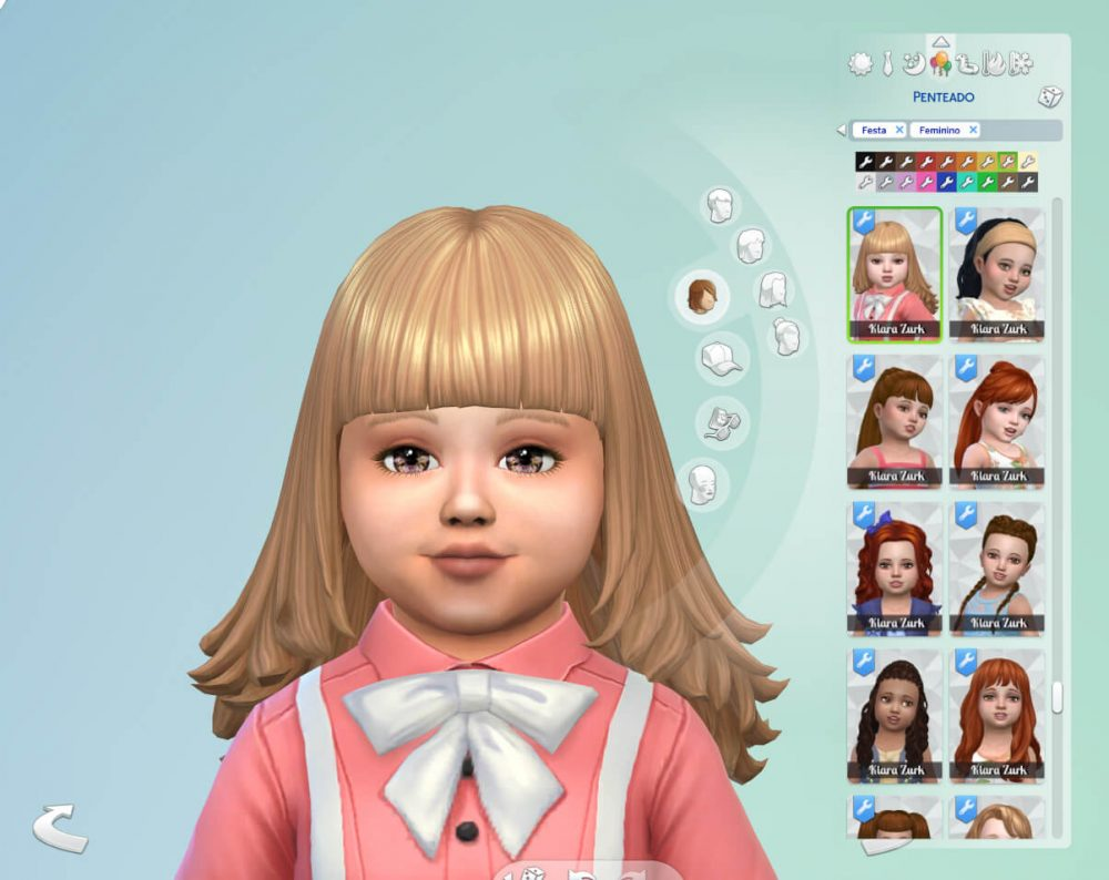Hailey Hairstyle for Toddlers