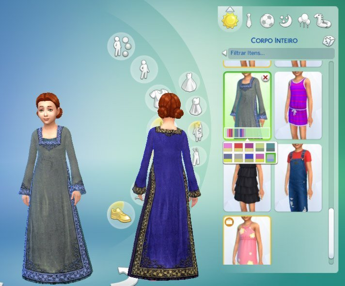 Royal Maxis Conversion for Girls