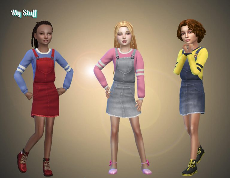 Dress Overalls Conversion
