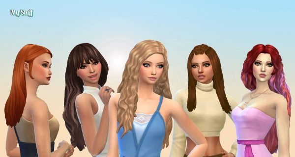 Female Long Hair Pack 25