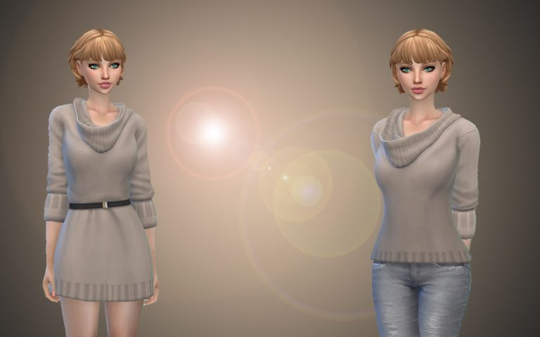 Turn Dress Into Sweater