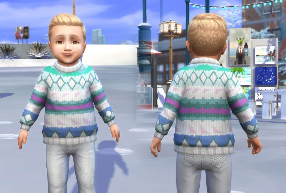Sweater Fair Isle for Toddlers