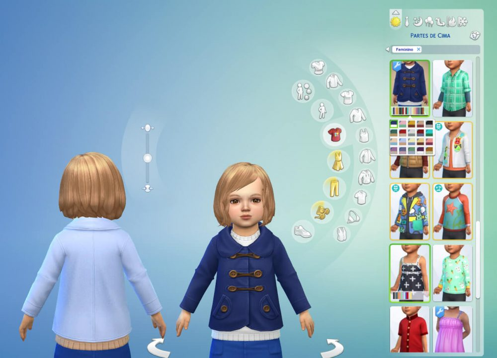 Coat Wool for Toddlers