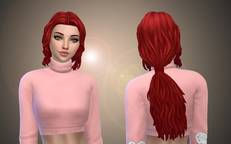 Elishia Hairstyle – Speed Meshing