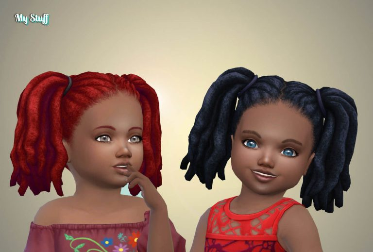 Pigtails Dreads for Toddlers
