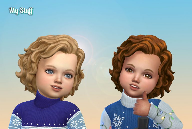 Shaggy Curls for Toddlers