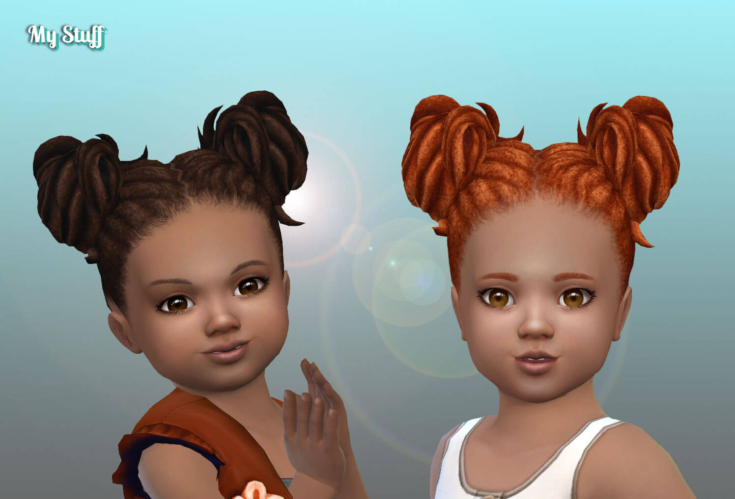 Buns Dreads for Toddlers