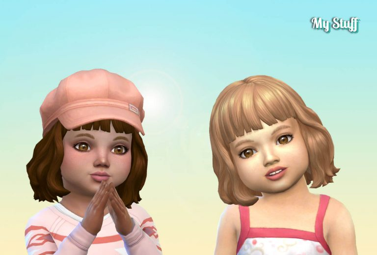 Wavy French Bob for Toddlers