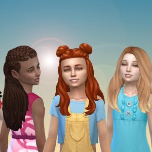 Girls Long Hair Pack 23