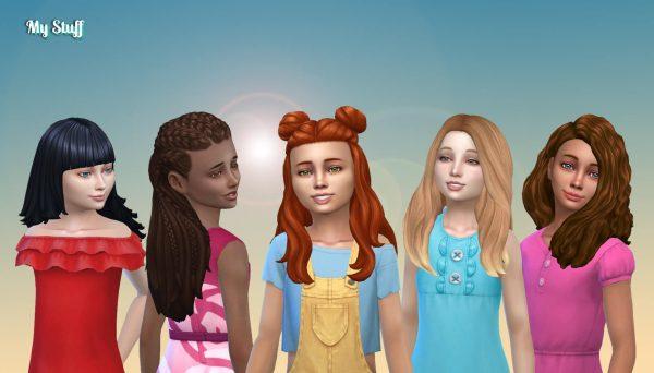 Girls Long Hair Pack 23
