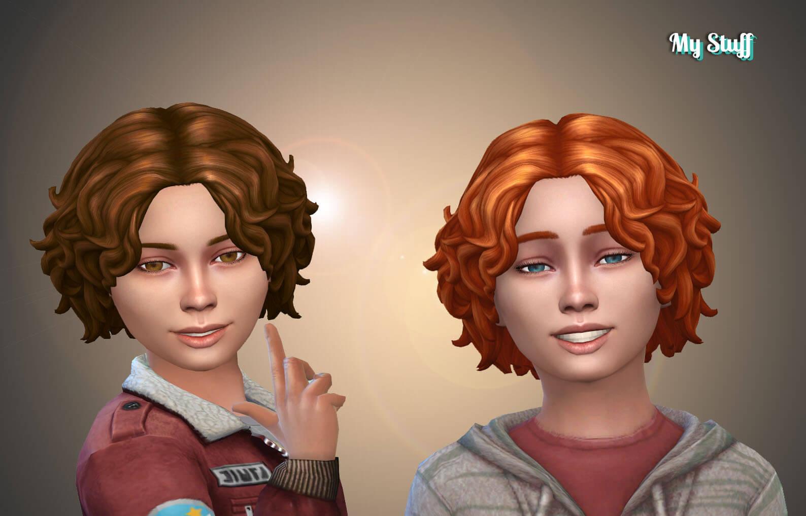 Luke Hair for Kids