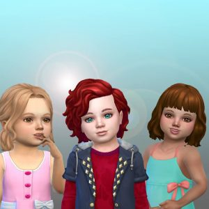 Toddlers Hair Pack 34