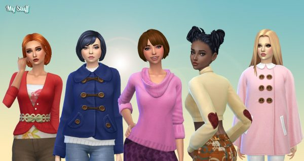 Female Top Clothes Pack 2
