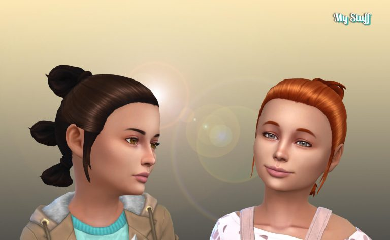 Rey's Hairstyle for Girls