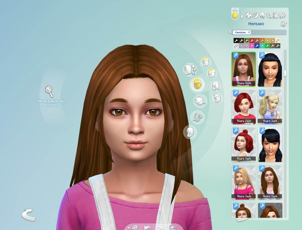 Luna Hairstyle for Girls