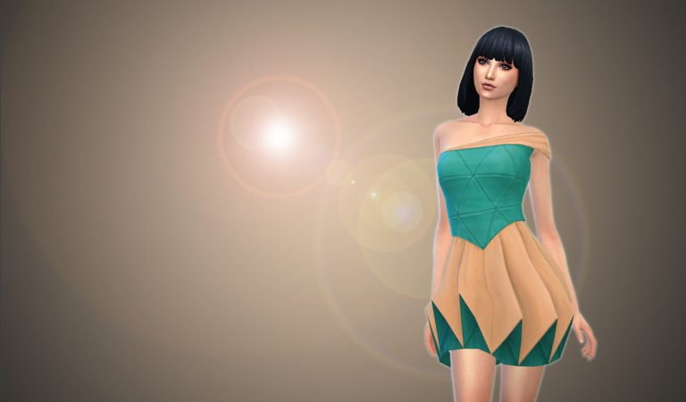 How to Convert Sims3 Dress to Sims4