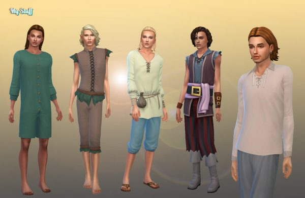 Male Historical Clothes Pack 2