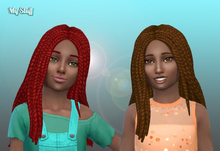 Mariana Braids for Girls