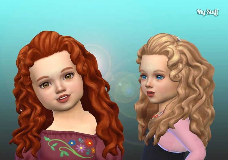 Melinda Hairstyle for Toddlers 💕