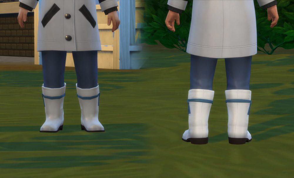Boots Calf Conversion