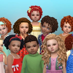 Toddlers Curly Hair Pack