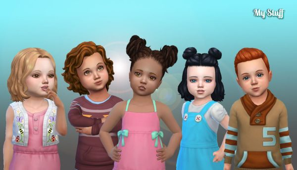 Toddlers Hair Pack 35