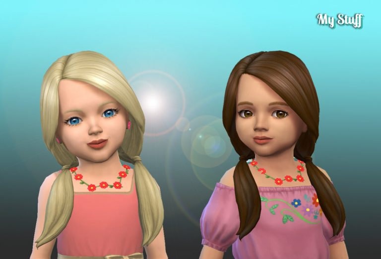 Rosemarie Hairstyle for Toddlers