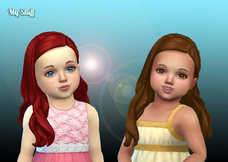 Silvia Hairstyle for Toddlers 💕