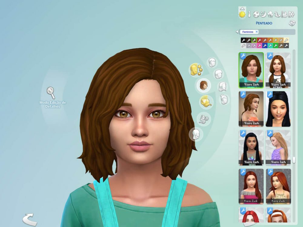 Erica Hairstyle for Girls