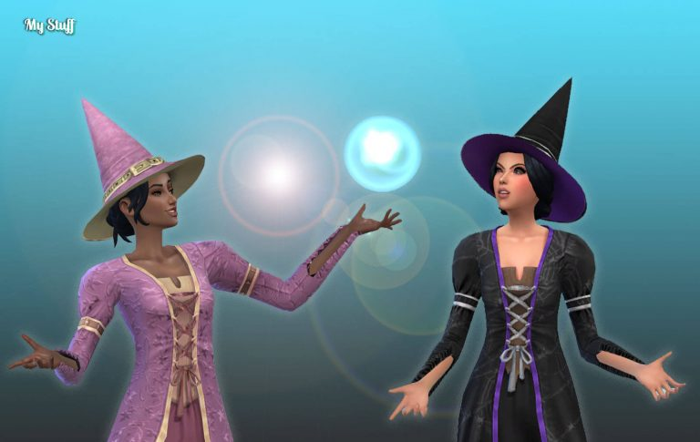 TS2 Witch Hat 💕