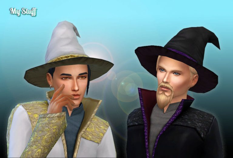 TS2 Male Witch Hat 💕