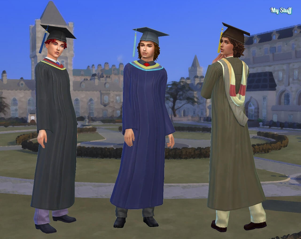 TS3 Graduation Conversion