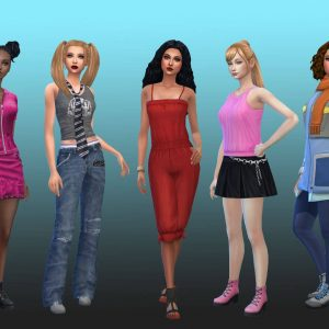 Female Clothes Pack