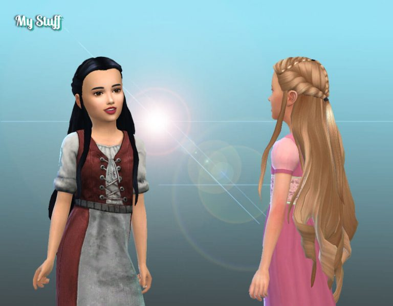 Tauriel Hairstyle for Girls 💕