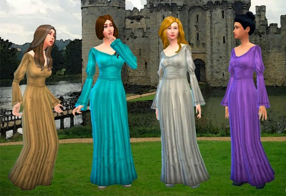 Maiden Dress Conversion