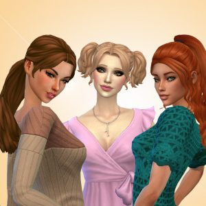 Female Tied Hairs Pack 15