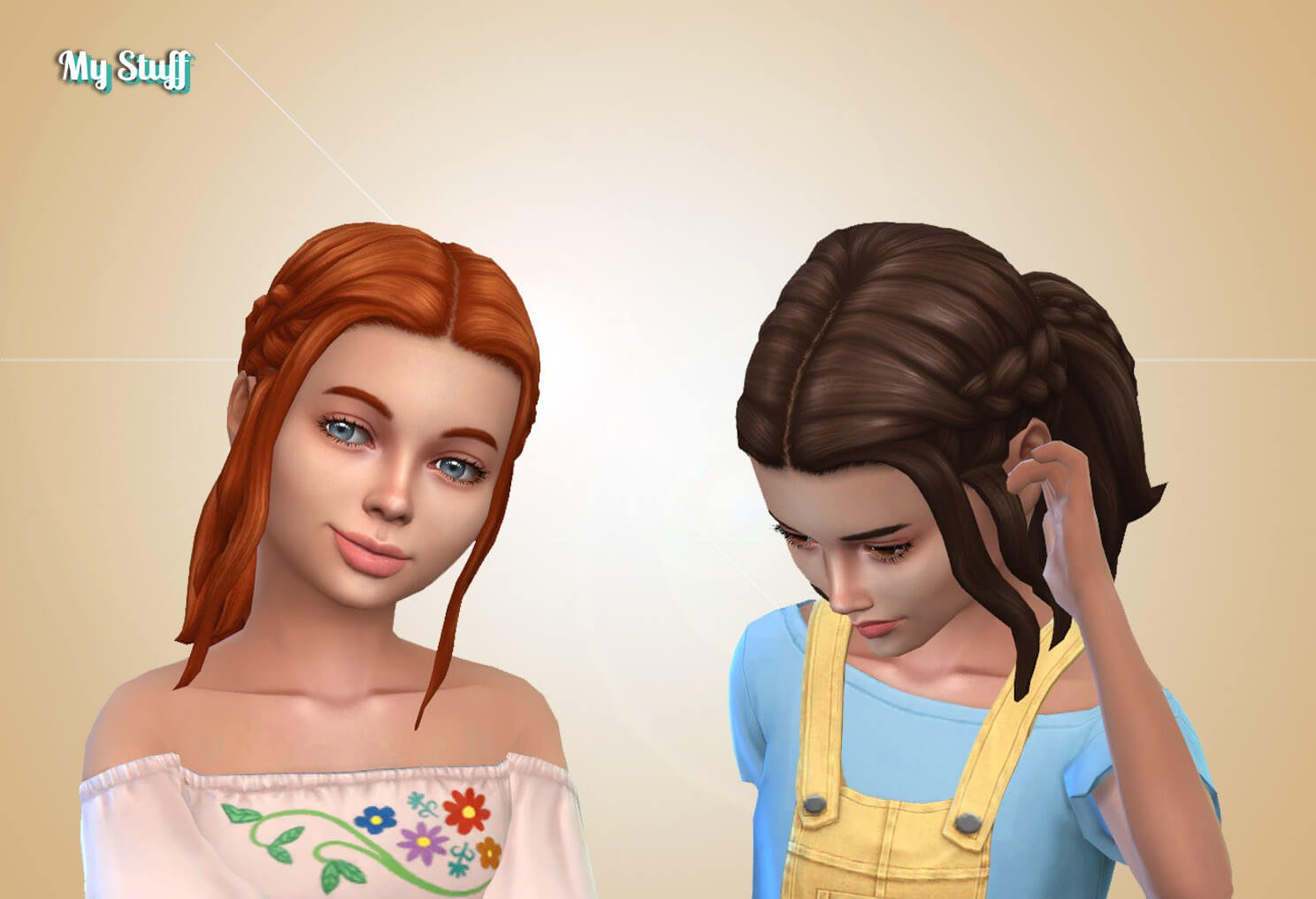 EP09 Double Braid for Girls
