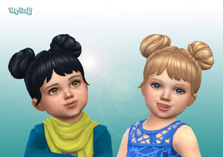 EP09 Space Buns for Toddlers 💕