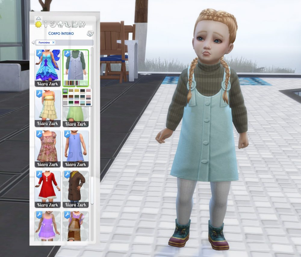 EP09 Dress Sweater for Toddlers